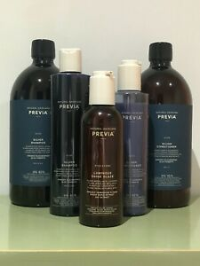 Previa Natural Haircare, Silver Shampoo & Conditioner Set & Gift  ((Brand New))