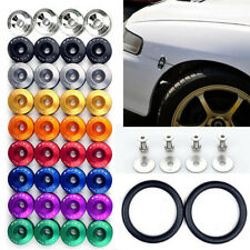 1Set JDM Quick Release Fasteners For Car Bumpers Trunk Fender Hatch Lids Kit