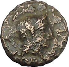 PERGAMON in ASIA MINOR 300BC Authentic Ancient Greek Coin Hercules Athena i45777