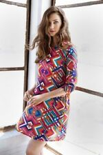 Geometric A-Line Dresses for Women