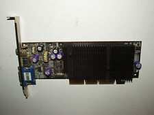 NVIDIA GeForce 2 MX 400, 128 MB, AGP 4x, Composite, S-Video, VGA, MX400-V128