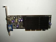 NVIDIA GeForce 2 MX 400, 128 MB, AGP 4x, Composite, S-Video, VGA, mx400-v128