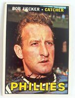 1967 Topps # 326 Bob Uecker Vg-Ex Philadelphia PHILLIES