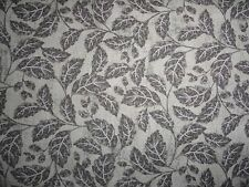 French foliage Ophelia gray coordinate leafage fabric sewing and quilting cotton
