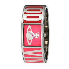 Vivienne Westwood Bond Silver-Tone and Pink watch