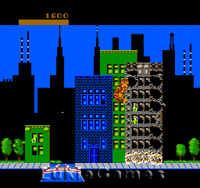 Rampage - The Classic NES Nintendo Game