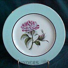 """NANCY PRENTISS china ROSA MUNDI pattern Salad Plate @ 7-5/8"""""""