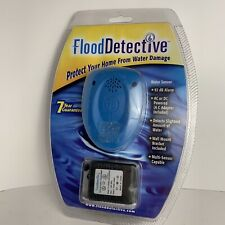 Flood Detective Wireless Water Leak & Mold Detector / Sensor Alarm Brand New