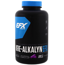 All AMERICAN EFX KRE Alkalyn 240 Capsules-Créatine Capsules-No chargement / vélo