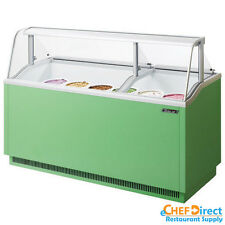 Turbo Air TIDC-70G-N Green Ice Cream Dipping Cabinet