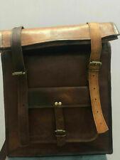 New Brown women Bag Leather Bag Creative Backpack Genuine Travel Top Rucksack