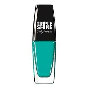 SALLY HANSEN Triple Shine Nail Color Polish Lacquer Set of 2 Dive In Code 280