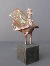 Oiseau en Bronze cloisonné de CHINE