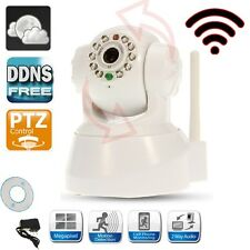 Wi-Fi Wireless IP WiFi Free DDNS 2-Way Audio Camera Cam IR Night Vision Security