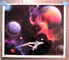 Star Trek Print-Michael David Ward-2nd Star.. Right-S&N