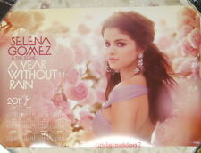 Selena Gomez & The Scene A Year Without Rain Taiwan Promo Poster