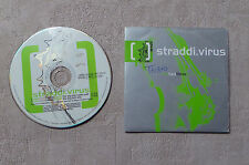 """CD AUDIO MUSIQUE / STRADDI.VIRUS """"ONE TWO THREE FOUR"""" CDS 2T 1998 CARDSLEEVE"""