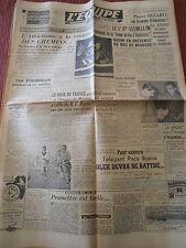 JOURNAL L'EQUIPE ATHLÉTISME / ONZE DE FRANCE 1948