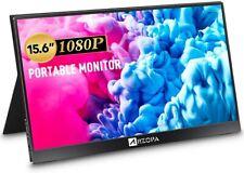 Tragbarer Monitor ARZOPA 15,6 Zoll 178°IPS HDR 1920X1080 Full HD Computerdisplay