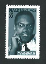 3273 Malcolm X Us Single Mint/nh Free Shipping