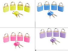 Korjo 4 Pack Luggage Locks Secure Travel Suitcase Bags Keyed Alike Padlock LLC40