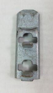 Penco T-Post Style Shelving Split Clips for Warehouse Shelves Male Female 2 Sets