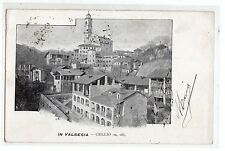C002149    VERCELLI  VALSESIA  CELLIO  PANORAMA  VIAGGIATA   1905   FP