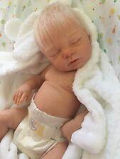 Custom Made reborn newborn Faux bébé réaliste poupée SILICONE VINYL Full Body de Noël