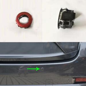 1x For Mazda 3 Axela 2014-2018 Rear Bumper Reversing Radar Support Braket Red