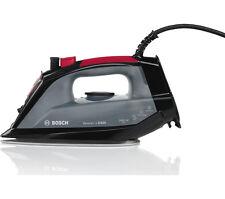 Bosch TDA2060GB Steam Iron 2400W 300 ml Palladium Ceramic soleplate Black & Red