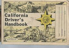 NI-036 - Vintage 1977 California Driver's Handbook, Vintage laws