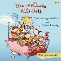 SABINE LUDWIG - DAS VERFLIXTE ALFA-BETT.SCHULTÜTENGESCHICHTEN  2 CD NEW