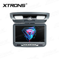 Car Ceiling Flip Down Overhead Roof Mounted DVD Player TV Digital Screen Monitor