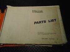Muzak Multiplex 620 Parts List w/Drawings