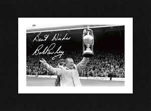 8X6 Mount BOB PAISLEY Signed Autograph PHOTO Gift Ready To Frame LIVERPOOL
