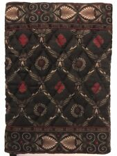 Vera Bradley Rare Retired Black Laurel Book Cover