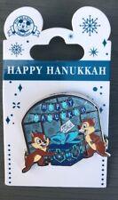 Disney ~ Chip 'n Dale 'Happy Hanukkah' Pin ~ New