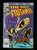 The New Mutants 1 comic by Marvel from 1983 in Very Fine Plus