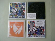 CYMBALS job lot of 4 promo CDs The Age Of Fracture Erosion The End Car Crash