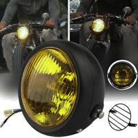 """6,5 """"montage latéral phare de la moto LED rétro + housse de protection pour c Cx"""