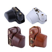 PU Leather Camera Bag Case Cover Pouch For Sony A5000/A5100/NEX3N DSLR Camera l