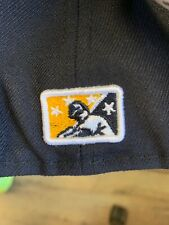 Charleston RiverDogs New Era Authentic Home 2016 59Fifty Fitted Hat - Navy/Gray