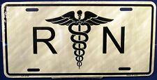 Novelty license plate RN- Registered Nurse Medical New Aluminum Auto tag 2134