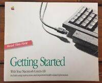 Vtg 1992 Apple Computer Mac Macintosh Centris 610 Owner User Set Up Guide Manual