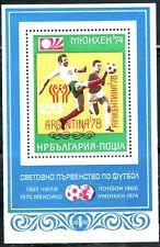 SELLOS DEPORTES FUTBOL. BULGARIA  1978 HB 74A . ARGENTINA 78