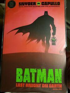 Batman Last Knight on Earth  #1 2020