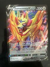 🔴🔵 Carte Pokemon: ZAMAZENTA V 139/202 ULTRA RARE Epee et Bouclier FR NEUF