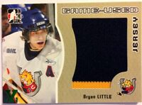 2005-06 ITG Heroes & Prospects Game-Used Jersey Gold Bryan Little Vault 1/1