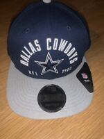 New Era 9Fifty Dallas Cowboys NFL Football Cap Hat Snap Back Old School Script