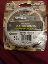Spiderwire SpiderWire Stealth  Braid- Camo-Braid 50 lb